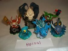 Skylanders Figure bundle - Spyros Adventure - Trigger Happy Boomer Zap Warnado