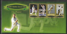 GRENADA 2007 SHANE WARNE - THE POWER Set 4v GOLD FDC
