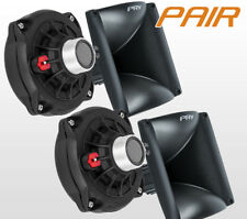 "PAIR PRV Audio D250Ph-S 1"" Phenolic Compression Driver WG17-25 Horn Combo D250"