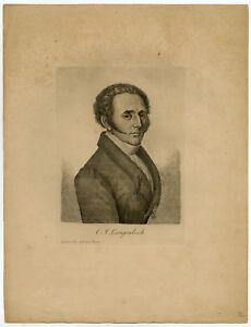 Antique Master Print-KONRAD JOHANN MARTIN LANGENBECK-SURGEON-Anonymous-ca. 1820