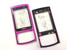 Oberschale Für Nokia 6700 Slide A Cover Front Cover Glas Schale Pink Original