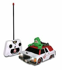 Ghostbusters RC Ecto-1 with Glowing Slimer Radio Controlled Toy Gift Lights
