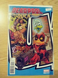 DEADPOOL THE DUCK 2 NM VARIANT MARVEL PA11-371