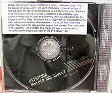 CATATONIA CD Mulder And Scully 1 Track UK PROMO in Pic Sleeve w/ PROMO STICKERS