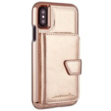 CASEMATE IPHONE X 10 COMPACT MIRROR CASE COVER - ROSE GOLD RRP £49.99