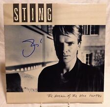 "Sting ""The Police"" Signed Autographed Album E"
