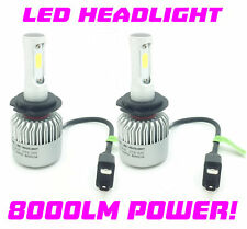 H7 100W COB LED Headlight Bulbs Pair 8000 Lumens Canbus For Renault Zoe 2012-On