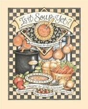 Is It Soup Yet? A Cookbook for Soup Lovers, Vartan, Dot, Good Condition, Book
