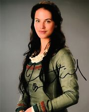 "JESSICA  BROWN FINDLAY  AUTOGRAPH  SIGNED 10"" X  8"" PHOTO  COA  55"