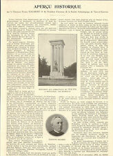 82 TARN ET GARONNE APERCU HISTORIQUE ARTICLE DE PRESSE CHANOINE GALABERT 1932