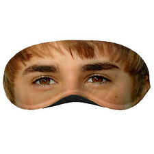 New Justin Bieber Eye Printed Sleeping Mask / Eye Mask Rare!