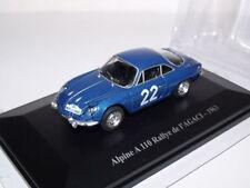 ALPINE A 110 - RALLYE de L'AGACI de 1963 : ELIGOR ~  NEUF