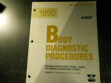 1990 CHRYSLER BODY DIAGNOSTIC PROCEDURES MANUAL FWD AIR SUSPENSION LOAD LEVELING