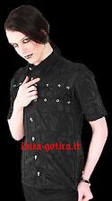 camicia cotone celtiche dark gothic goth punk rock emo