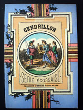 Vintage Child's book Imagerie Pellerin Cendrillon Serie Ecossaise Book Inv1509