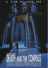 Death and the Compass - Original Japanese Chirashi Mini Poster - Alex Cox