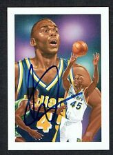 Chuck Person #513 signed autograph auto 1991 Hoops Basketball Trading Card