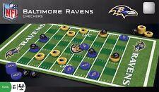 Baltimore Ravens NFL Checkers Set on Football Field  FREE SHIP!
