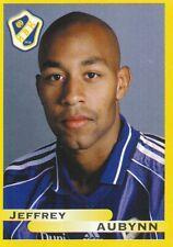 079 JEFFREY AUBYNN # SWEDEN HALMSTADS.BK STICKER FOTBOLL ALLSVENSKAN 1999