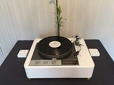 "Garrard 401 9"" piano white plinth Zarge"