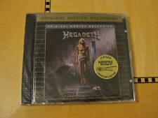 Megadeth - Countdown to Extinction - MFSL Gold Audiophile CD SEALED