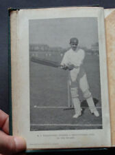 THE JUBILEE BOOK OF CRICKET: Cricketeers . Batting & Bowling / Wickets / 1897.