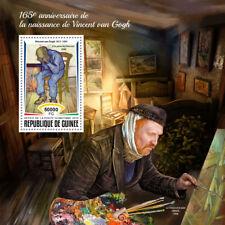 Guinea  2018 Vincent van Gogh paintings MS  S201809