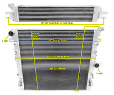 3 Row Performance Champion Radiator for 2007 2008 2009 Jeep Wrangler V6 Engine