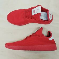 ADIDAS Pharrell x Tennis Hu Mens Size EUR 38 or US 6 Scarlet Red Sneakers Shoes