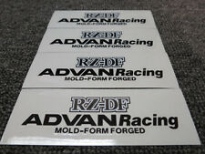 JDM Brand New 4pc Sticker Decals 17-19 inch Rims Wheels Advan Racing RZ-DF RZDF