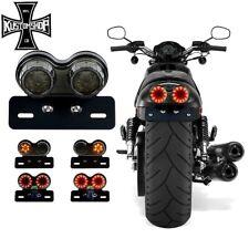 MOTORCYCLE TAIL LIGHT/NUMBER PLATE  BRACKET! CAFE RACER, HARLEY, BOBBER, CUSTOM!