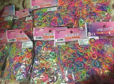 10 Packs Of Loom Bands 6000 Total + 10 Tools + 240 S Clips