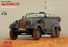 ICM 1/35 Mercedes TYP G4 (kfz.21 ), II Guerra Mundial Alemán Bastón coche #35538