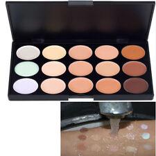 New Waterproof 15 Colors Face Concealer Camouflage Cream Makeup Palette Bronzer