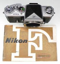 Nikon F with Plain Prism  #6480083 .......... Minty