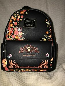 NWT Loungefly Disney Pixar Coco Remember Me Miguel Mini Backpack In Hand