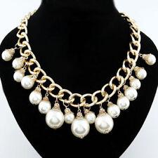 Modeschmuck-Halsketten & -Anhänger mit Perlen-Perlen