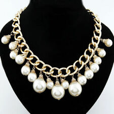 Modeschmuck-Halsketten & -Anhänger aus Perlen-Perlen für Damen