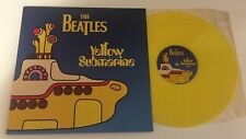 "12"" LP THE BEATLES YELLOW SUBMARINE SONGTRACK LIMITED YELLOW VINYL GATEFOLD EU"