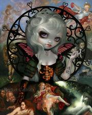 Jasmine Becket-Griffith art print dark fairy angel SIGNED Unseelie Court: Lust