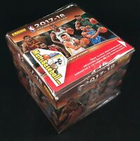 2017-18 Panini NBA Basketball Sticker Box Factory sealed 50 packs/7 Stickers