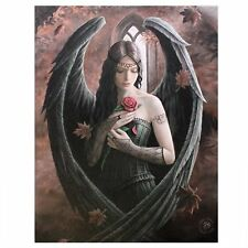 Fantastic Anne Stokes Design Gothic Rose Angel /rose Fairy Canvas Picture on Fra