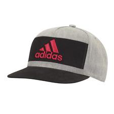 2307aa06335 adidas Golf 2017 OSFM Heather Block Snapback Hat Cap Grey Heather One Size