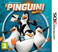I PINGUINI DI MADAGASCAR - Nintendo 3DS - NUOVO ITALIANO