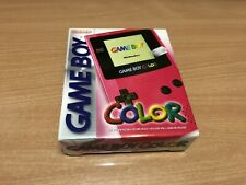 GAME BOY COLOR PINK EDITION  ROSA NUOVO GAMEBOY  BRAND NEW NINTENDO