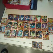 Lot 27 Cartes Dragon Ball gt  Fr Grand Combat Part 7 Power Level Set