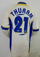 MAGLIA CALCIO SHIRT PARMA THURAM AUTOGRAFATA 1997/98 FOOTBALL ITALY SOCCER IT37