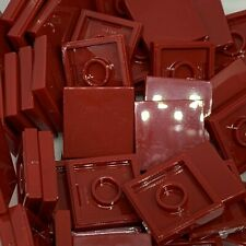New - Lego 50 2x2 Tile - 3068 - Dark Red -  Star Wars / Space