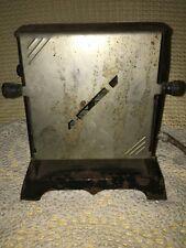 Antique electric toaster cloth cord Nelson Machine 2 slice parts repair restore