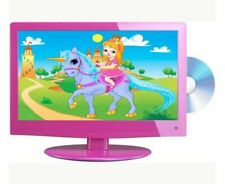 """Pink 19"""" inch LCD TV DVD Combi HD Ready, Freeview, PC Input, HDMI & Remote"""